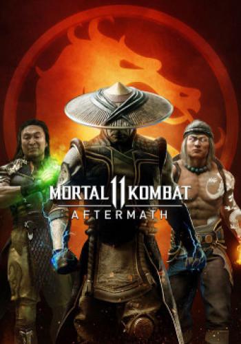 Capa de Mortal Kombat 11: Aftermath