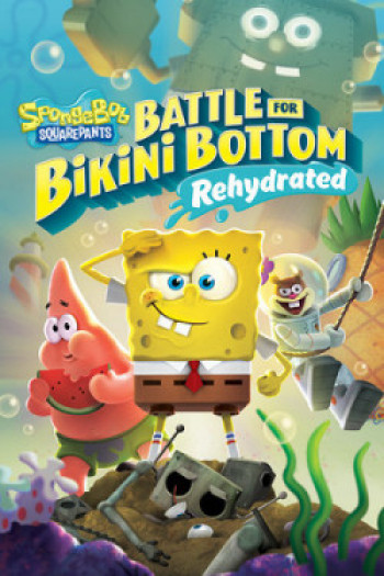 Capa de SpongeBob SquarePants: Battle for Bikini Bottom – Rehydrated