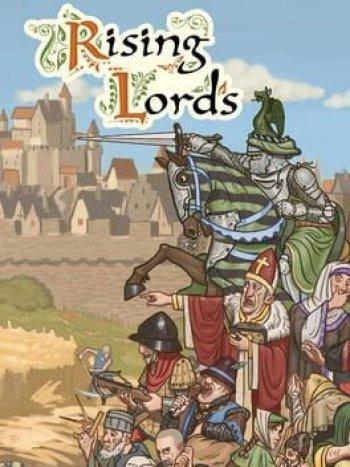 Capa de Rising Lords