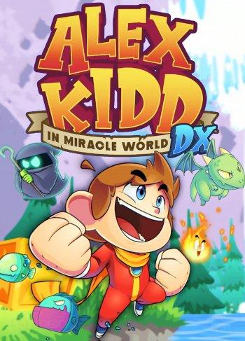 Capa de Alex Kidd in Miracle World DX