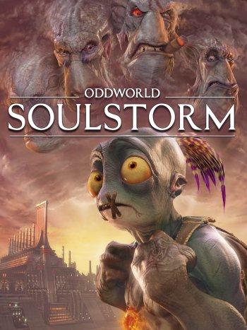 Capa de Oddworld: Soulstorm