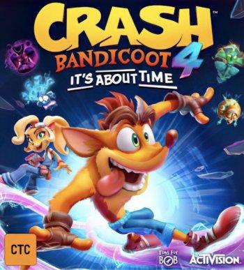 Capa de Crash Bandicoot 4: It's About Time
