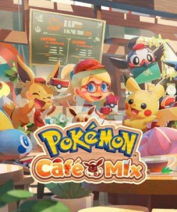 Capa de Pokémon Café Mix