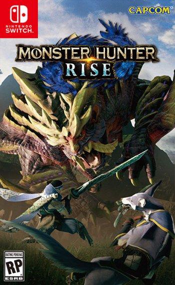 Capa de Monster Hunter Rise