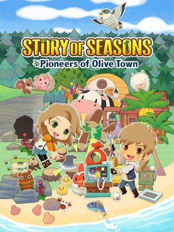 Capa de Story of Seasons: Pioneers of Olive Town