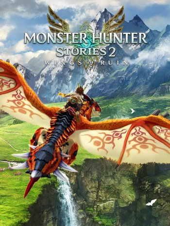 Capa de Monster Hunter Stories 2: Wings of Ruin