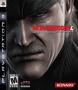 Capa de Metal Gear Solid 4: Guns of the Patriots