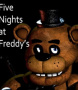 Capa de Five Nights at Freddy's