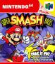 Capa de Super Smash Bros.